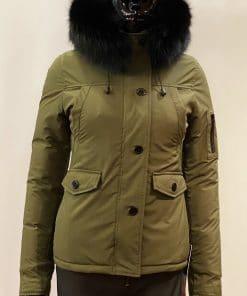 Bontjas dames winterjas 9959 groen softshell