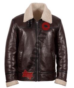 Lammy coat heren 9952 donker bruin