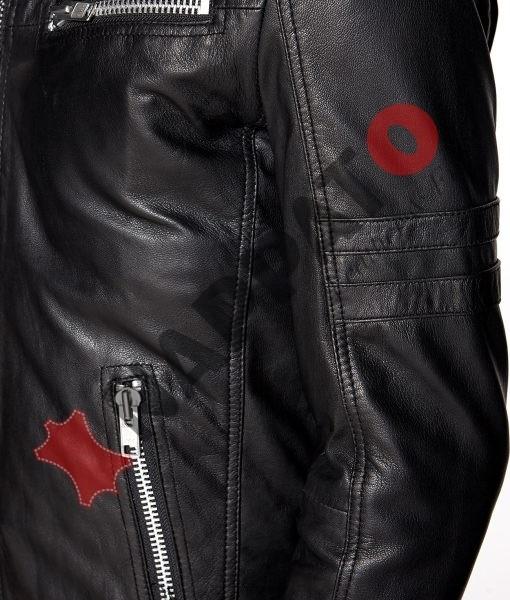 Leren Jas Heren RockandBlue Speedy Zwart Nappato Leather