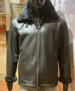 lammy coat 8 zwart
