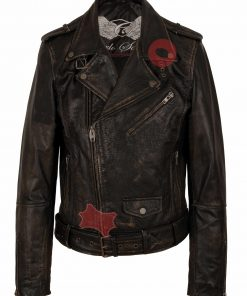 Leren jas heren Perfecto 9915 Vintage bruin